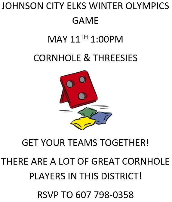 2019 South Central District Winter Olympics:  Tournament hosted by Johnson City on May 11th