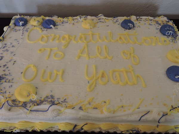 2019 Youth Recognition Cake