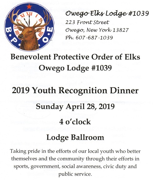 2019 Youth Recognition Dinner