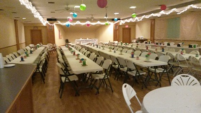 Our Great Hall for Entertaining