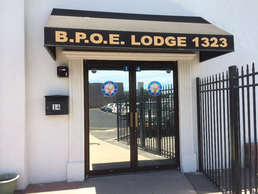 Main Entrance to Lodge