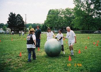 More giant ball fun!