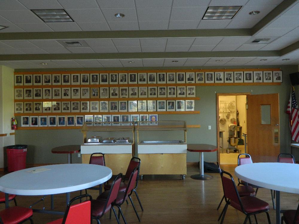 Lodge room ER wall