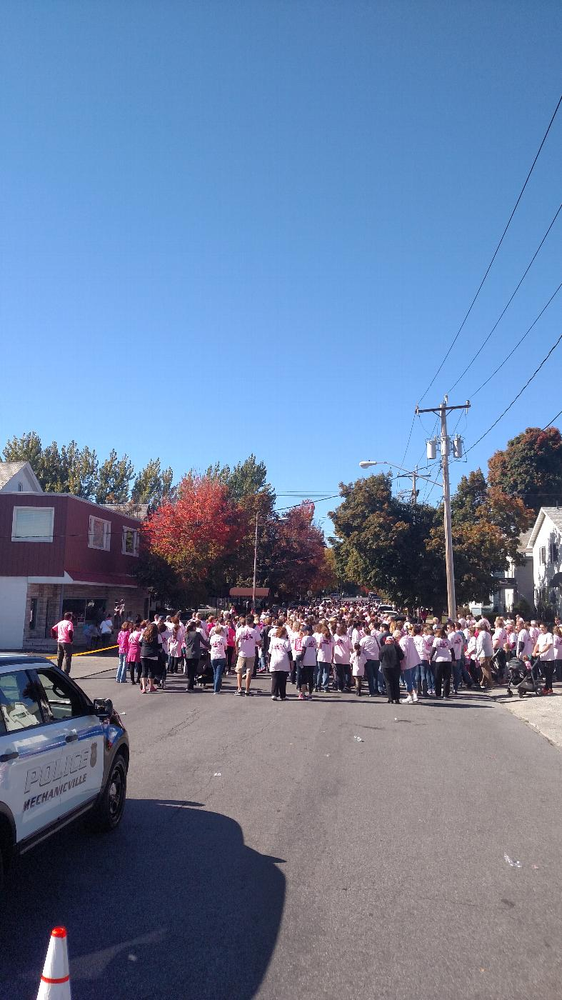 Initiated from the Lodge. Over 1500 walkers were in attendance for this special cause.