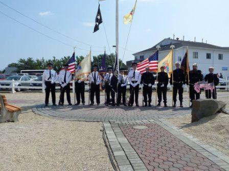 Lacey Lodge (White) and Boonton Lodge NJ State Convention Military Honor Guard Champions at the 2013 Army of Hope Picnic