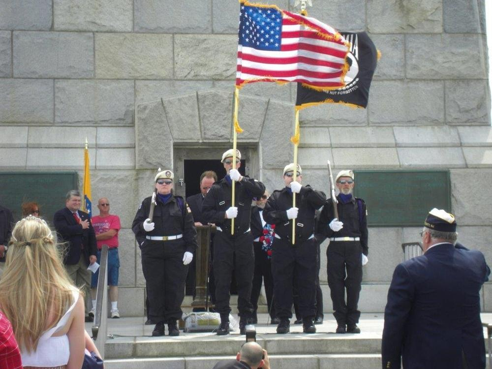 NJ State Convention Military Honor Guard Champions at High Point for Veterans Service
