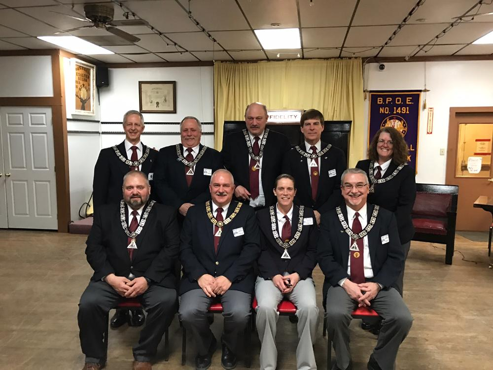 2017-18 Lodge Officers