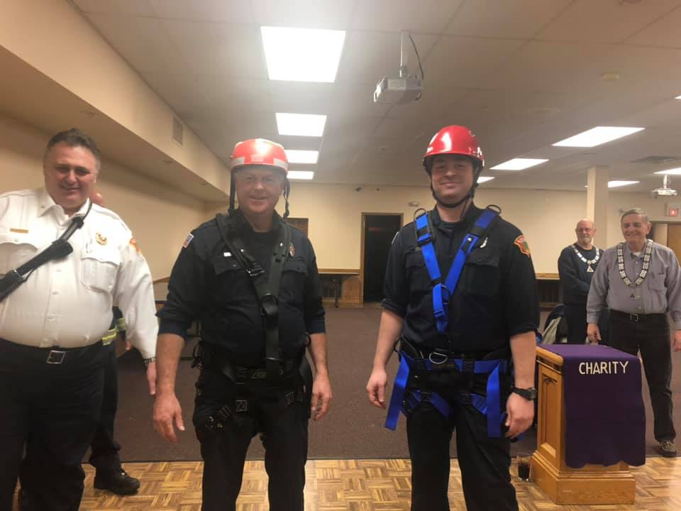 Elmhurst Fire Department Rescue Harnesses