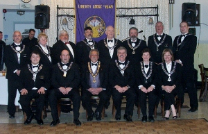 Liberty Elks Lodge Installation of Officers 2013