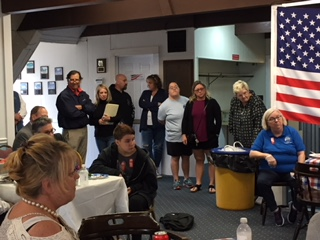 Some of the many attendees who came to our first Drug Awareness Day for Cape Cod