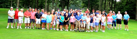 Great group of golfers at Paul Harney course in E. Falmouth on 8/12/18