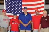 Thanks to a generous Gratitude Grant (2013-2014) we were able to sponsor a Barnstable Little League team this year! Pictured L to R: VP of the League Majors Steve Clifford, Evan Walker, Past Exalted Ruler Rich Walker, VP of the League Joe Scott and Exalted Ruler Dave Dunbar