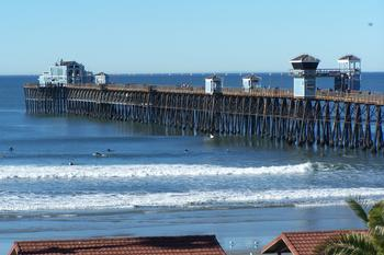 VIEW OF THE OCEANSIDE PIER