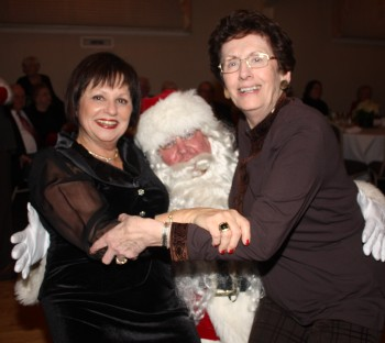 These two ladies can make Santa's mustache droop!