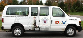 With the proceeds of the Southampton Elks 2009 Golf Tournament, a second van was donated to Disabled American Veterans Transportation Services, to transport veterans from our area to medical appointments.