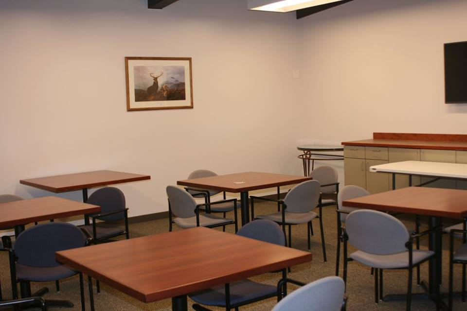 Our conference room.