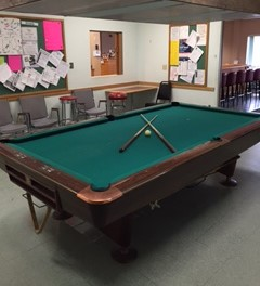 Enjoy a friendly game of pool or compete in one of our leagues.