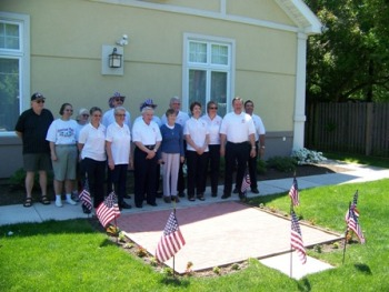 Memorial Day service, May 31, 2010