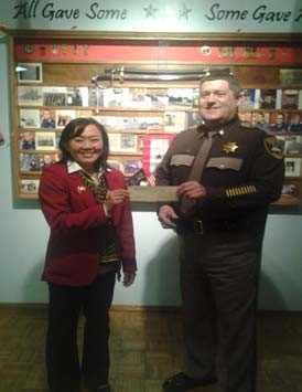 Exalted Ruler Maiko Minami fundraised for the Pacific County Sheriff's Office K-9 Unit through her participation in the Cape Disappointment Sprint Triathlon in September 2013. Our Lodge raised $2010!