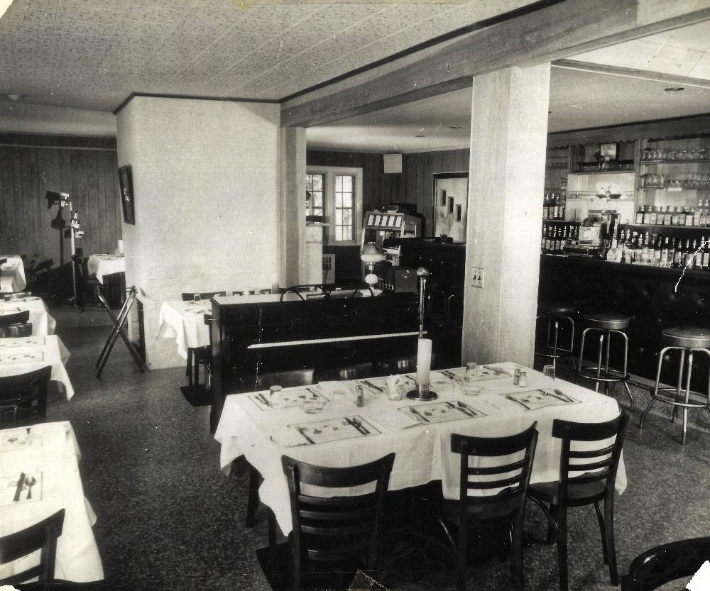 The Lodge's Lounge in 1964