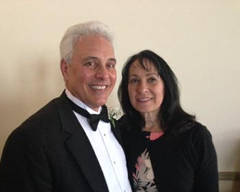 Peter Famularo ER and Joyce Famularo at our April 6th Installation
