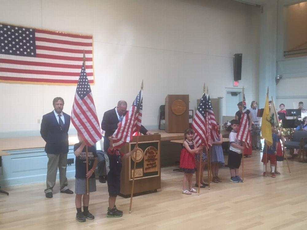 Flag Day at the Town Hall