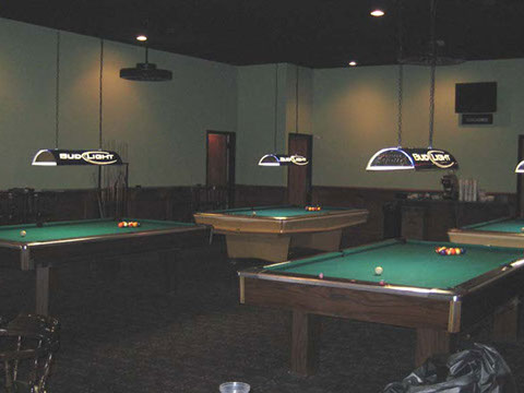 Grill Room Pool Tables