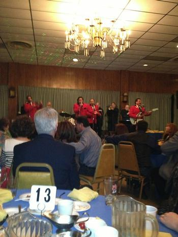 Rotterdam and Colonie made History when they hosted the Jersey Four Frankie Valli Tribute Band on March 9, 2013