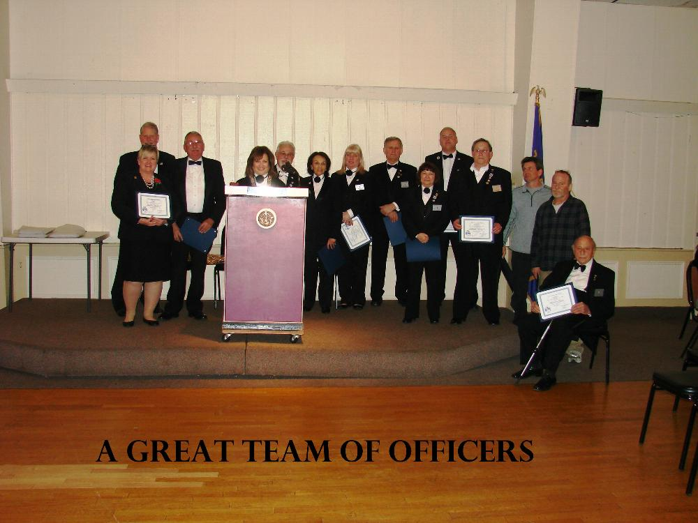 2017 TEAM OF OFFICERS