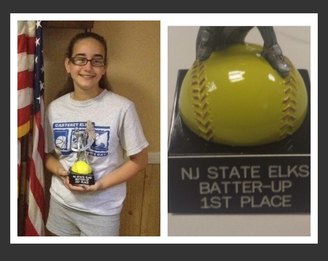 Amanda Medvitz - State Batter Up Champion!  (posted with the permission of the Medvitz family)