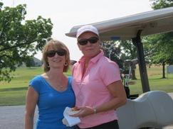 2012 Golf Tournament-MaryEllen Lewis & Denise Aumiller
