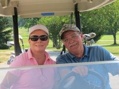 2012 Golf Tournament-Denise Aumiller & Bob Aumiller