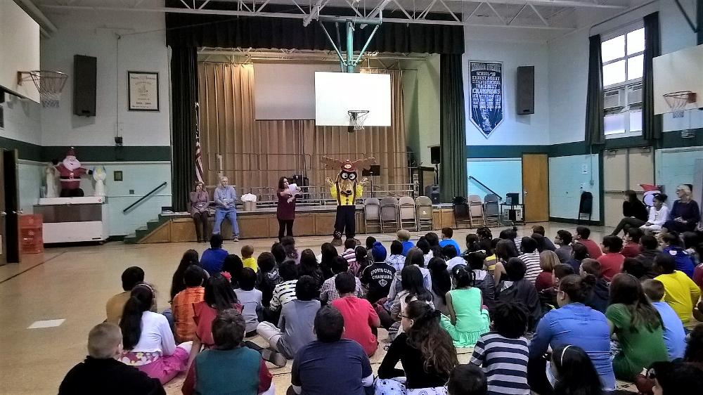 Presentation to 4th & 5th grade students
