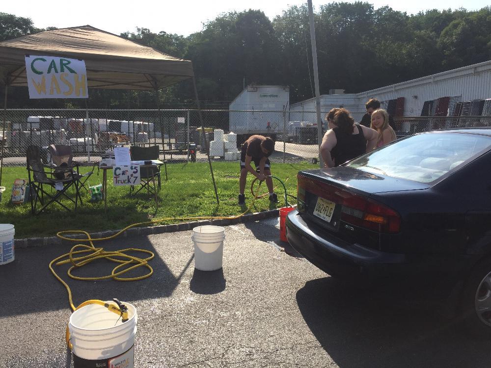 Antler's Car Wash & Bake Sale July 2015