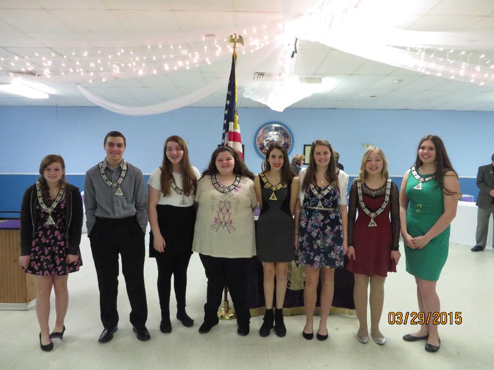 Installation of Antler Officers for the year 2015-2016
