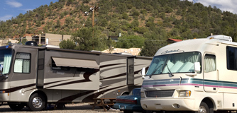 RV parking.  Water and electrical hookups.