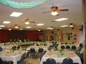 Heritage Room:        Wednesday & Friday dinners      Special Events