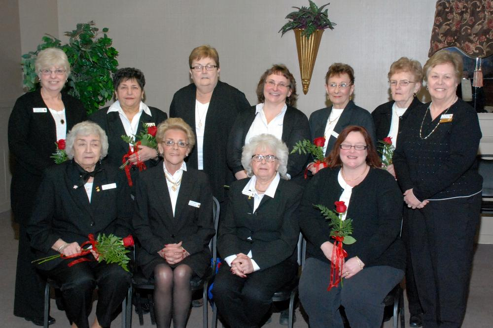 2014 Ladies Auxiliary Officers