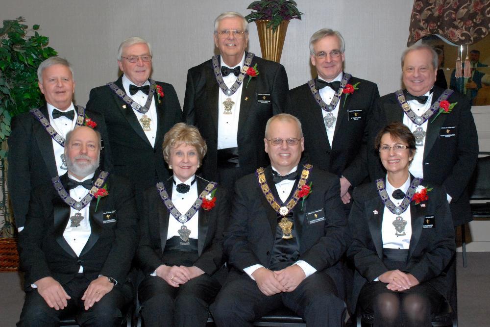 2014 Lodge Officers, Sandy Sanderson ER