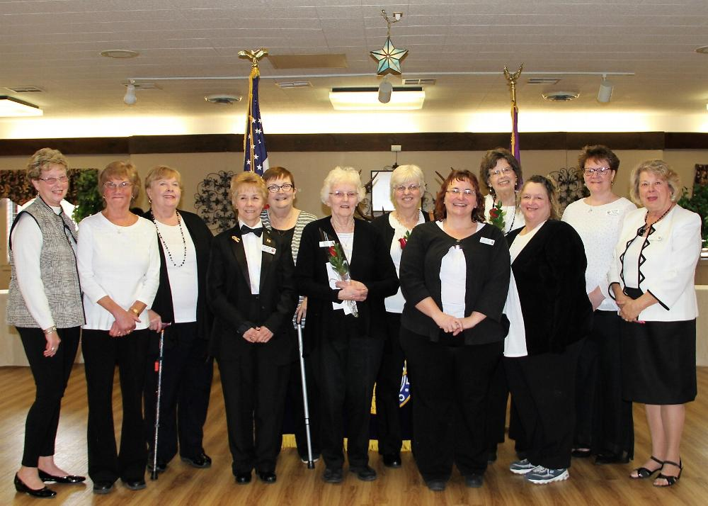 2018-2019 Ladies Auxiliary Officers