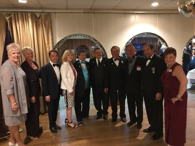 PDDGER, Alice Leonhardt, State Trustee, Betty Volker, Mayor Brad Cohen, Assemblywoman, Nancy Pinkin, ER Denise Brucato, State President, John Szczomak, District VP, Dennis Kopik, GL Committeeman, Pete Smith, SDGER, Francis J. Decibus, State Secretary, Joyce Powell