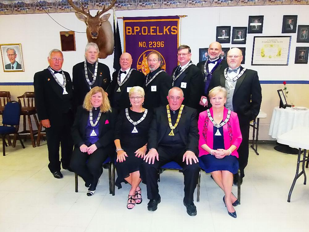 Officers Installed 2017