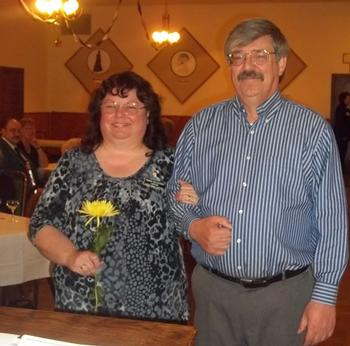 Tammy and Tom Weisgerber. Tammy is Corresponding Secretary for Elkettes 2013