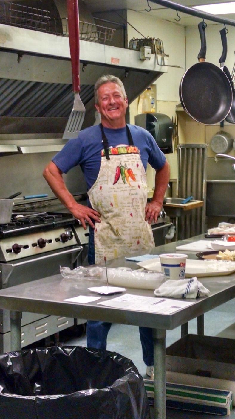 Our chef Brad Warwick, PER