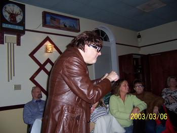 """One of the characters in """"Class Reunion"""", the Comedy Murder Mystery"""