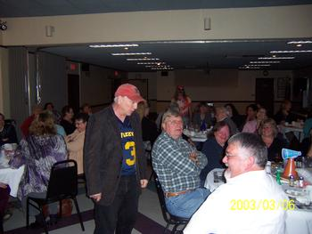 Scene from the Elks Ladies Auxiliary Comedy Murder Mystery Dinner