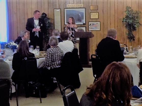 Alison R. Clark awarded the Grover Duvall Memorial Scholarship