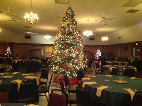 Hall Christmas Tree