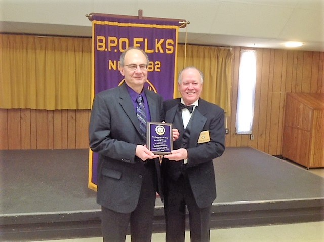 Kevin McArdle Firefighter of the Year Earleigh Heights Fire Station