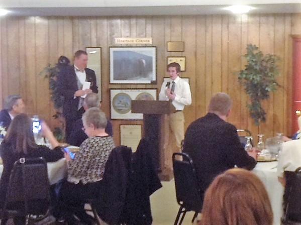 Scott P. Davis awarded the Grover Duvall Memorial Scholarship Award